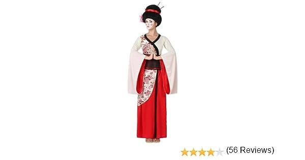 Atosa-15285 Disfraz Geisha, color rojo, XL (15285): Amazon.es ...