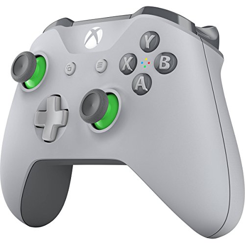 41neZSZZ9kL - Xbox Wireless Controller - Grey/Green