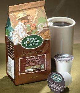 Green Mountain Colombian Fair Trade, Ground Coffee, 10oz. Bag