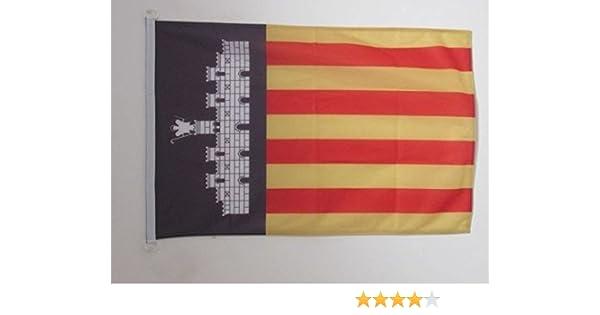 AZ FLAG Bandera Nautica de Mallorca 45x30cm - Pabellón de ...