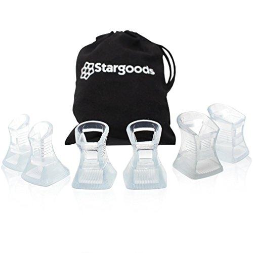 Stargoods Protectores de Tacón para Zapatos de Mujer - Ideal para Fiestas al Aire Libre, Jardines y Arena - Set de 3...