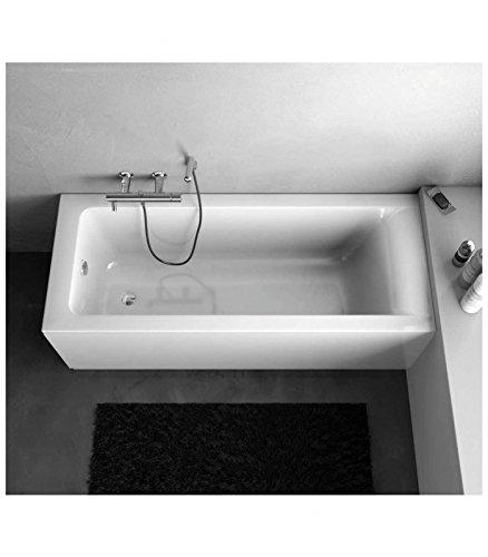 Ideal Standard vasca incasso 170x75, bianco, Connect E124501: Amazon ...