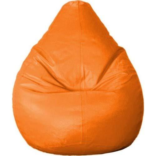 CADDYFULL XXL Bean Bag Without Beans  Orange  Bean Bag Covers