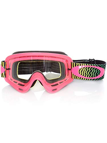Oakley Unisex-Adult Goggles (Pink, Medium)