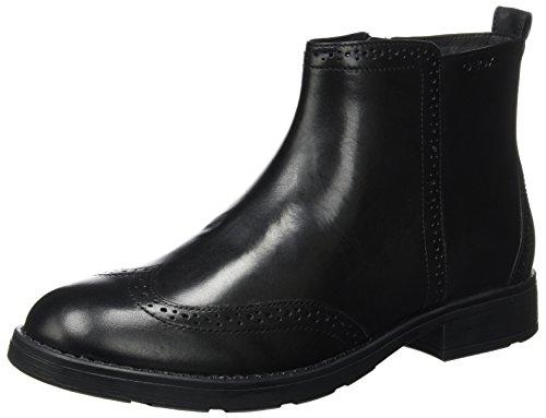 Geox Unisex Adults' Jr Sofia F Boots Black (Black C9999) GODct