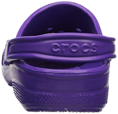 Crocs Classic Clog Adults, neon Purple 11 M US Women / 9 M US Men by Crocs (Image #2)