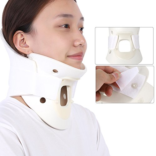 Breathable Neck Brace, Cervical Collar Neck Support Pain Relief Neck Orthosis Braces for Neck and Upper Back Relief Pain, Dizziness and Limb Numbness(S)