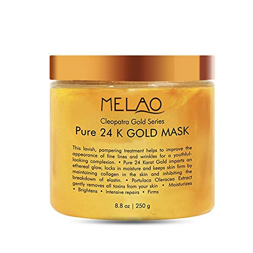 Golden Mask - Hot Sale! 24k Golden Peel Off Mask Anti Wrinkle Anti Aging Facial Mask Face Care Whitening Face Masks Skin Care Face Lifting Firming Mask, 250g