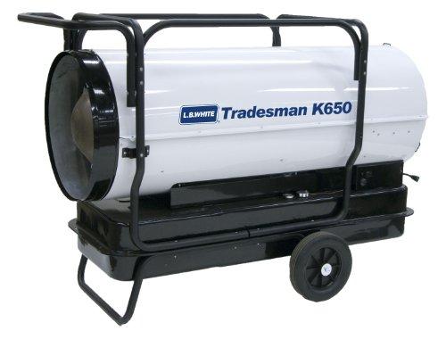 L B White Cp650bk Tradesman K650 Portable Forced Air