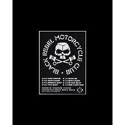 Black Rebel Motorcycle Club - UK Tour 2017 Mini Poster - 25.4x20.3cm