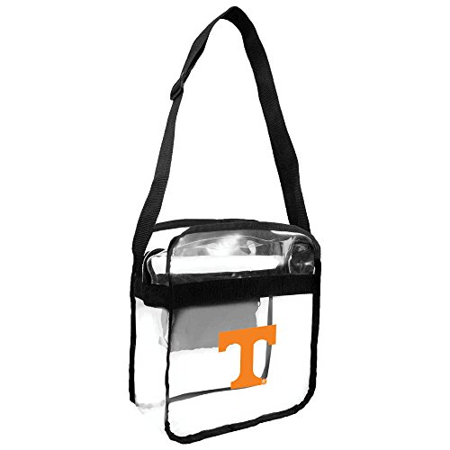 Littlearth NCAA Tennessee Volunteers Clear Carryall Crossbody Purse