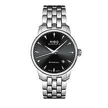 Mido Men's MIDO-M86004181 Baroncelli Analog Display Swiss Automatic Silver Watch by Mido