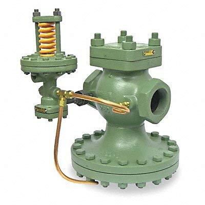 (Spence Engineering - E-C1C9A1B1AM1 - E Series 4-3/8L Cast Iron Pilot-Operated Pressure Regulator, 10 to 100 psi)