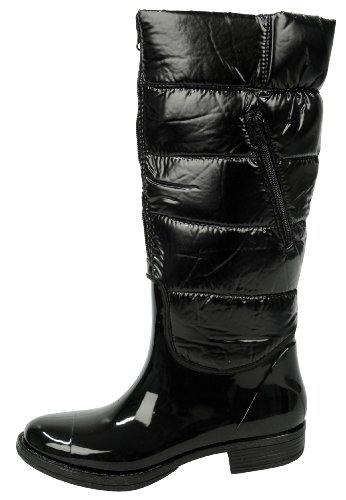 Capelli New York Regenstiefel Back-Stitched Black