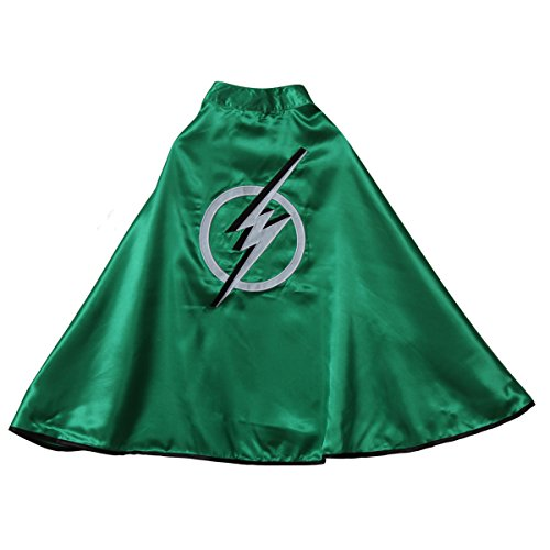 Making Believe Green Lightning Bolt Cape
