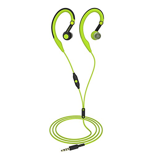 Running Headphones Over Ear in Ear Sport Earbuds Earhook Wir