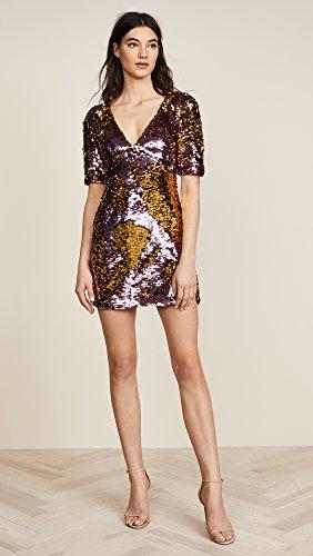 For Love & Lemons Women's Sparklers Party Dress, Dusty Rose, Medium by For Love & Lemons (Image #5)'