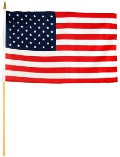 Knife Bravo Rescue (ALBATROS 6x9 6ftx9ft USA U.S.A. American Stick Flag Wood Wooden Staff for Home and Parades, Official Party, All Weather Indoors Outdoors)