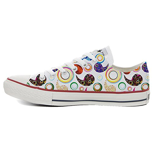 Converse All Star Slim chaussures coutume mixte adulte (produit artisanal) Happy Paisley