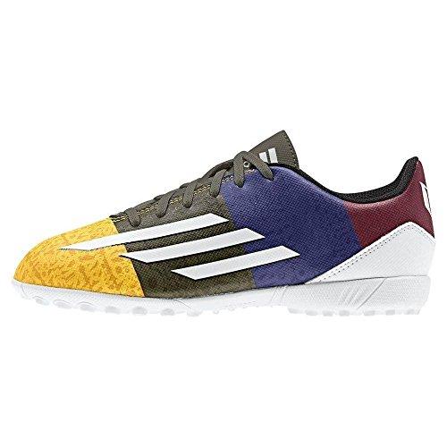blanc Rouge J Synthtique Noir Bleu De Foot Matire Chaussures Pour Tf Messi En Adidas Or F5 Enfants qAROqa