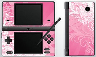 Pink Dream Skin for Nintendo DSi Console