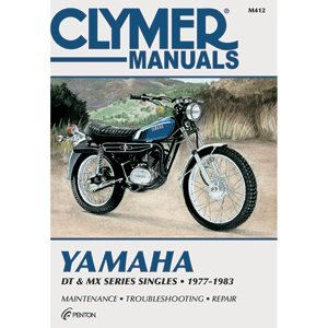 CLYMER YAMAHA DT & MX SERIES SINGLES 1977-1983 M412 for sale  Delivered anywhere in USA