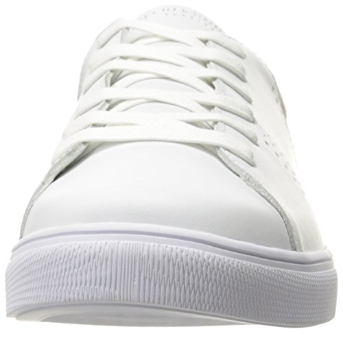 Skeche Street Frauen Moda-Clean Street Fashion Sneaker Weiß / Pink