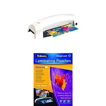Fellowes Lunar Machine /à plastifier A3 25 Pochettes de Plastification ImageLast A3 80 Microns
