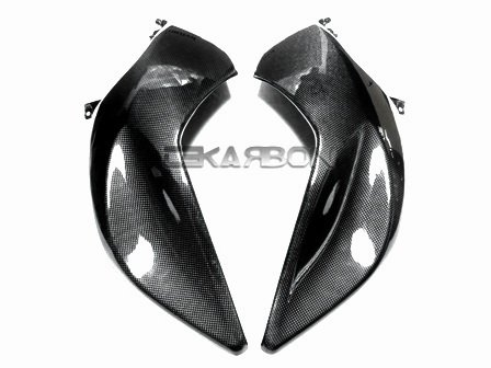 2005 - 2008 BMW K1200R Carbon Fiber Side Tank Panels Bmw K1200r Carbon Fiber