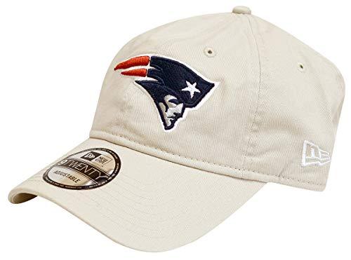 New Era NFL Cotton Strapback Hat (New England Patriots) ()