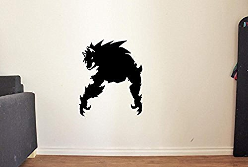 Silhouette Werewolf Vinyl Wall Decals Halloween Vinyl Decor Scary Sticker KM5803