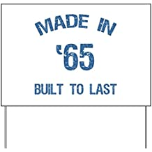 CafePress - Made In 1965 Yard Sign - Yard Sign, Vinyl Lawn Sign, Political Election Sign