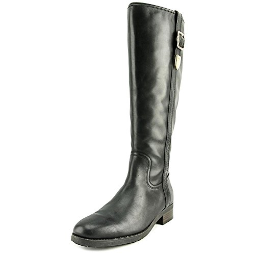 under 50 dollars cheap sale visit Coach Womens Easton Closed Toe Knee High Fashion Boots Black Extended Semi Matte Calf cheap wholesale price clearance wiki 2014 new sale online nfQh0