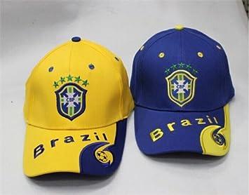 Recuerdos de los aficionados Copa Mundial fútbol sombrero suministros  deportes Brasil Cap  3339ecee044