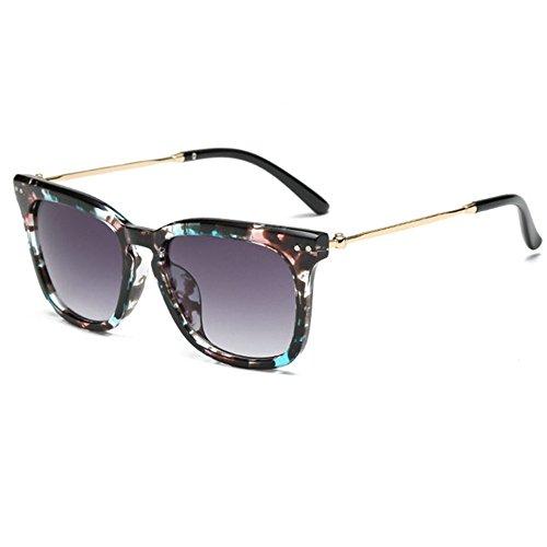 Aoligei Hommes et femmes lunettes de soleil lumineux couleur rétro lunettes de soleil lunettes de mode e5qyEgOK