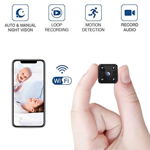 Buy Bargain FREDI Hidden Spy Camera, 1080P HD Mini Wireless WiFi Small Nanny Cam with Night Vision, ...