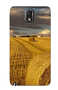 Galaxy Note 3 Scratch-proof Protection Case Cover For Galaxy/ Hot Hay Bales Phone Case