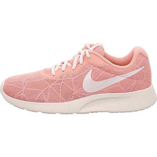 NIKE Women's Tanjun Running Shoes Coral Stardust/Sail