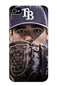 3d89ce2772 Tampa Bay Rays Baseball Fashion Tpu Case Cover For Iphone 4/4s, Series