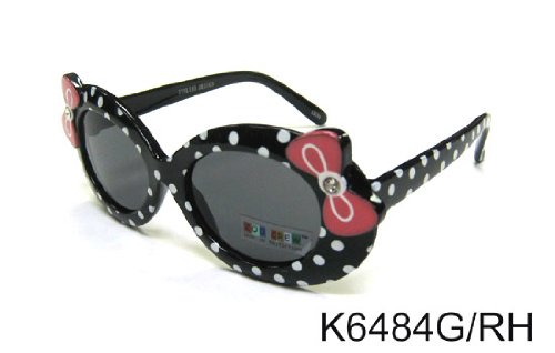 Review Free S&H Sunglasses – Hello Kitty Style Kids Sunglasses with Ribbon in Black Color (K6484BK)