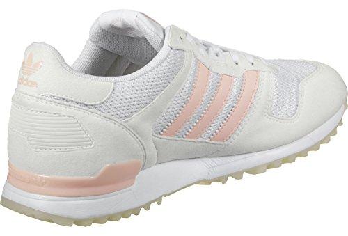adidas Zx 700 W, Zapatillas de Deporte para Mujer Blanco (Ftwbla / Roshel / Balcri)