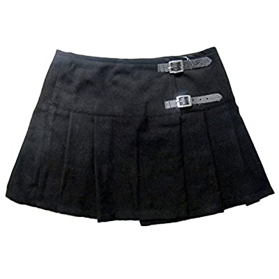 Viper London 13 Inch Micro Mini Kilt Skirt at Women's Clothing store