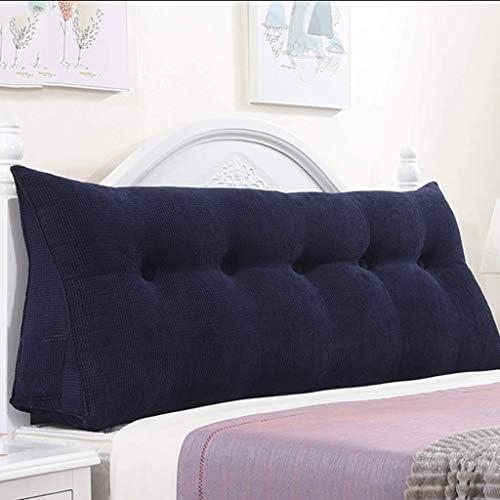 ダブルベッド用の柔らかい枕、三角形の枕、サイズ用の枕ホルダー、洗えるフランネル5色、5サイズ(色:C、サイズ:180 cm)