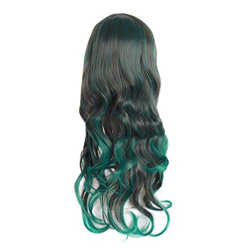 MapofBeauty 28 Wavy Multi Color Lolita Cosplay Wig Party Wig