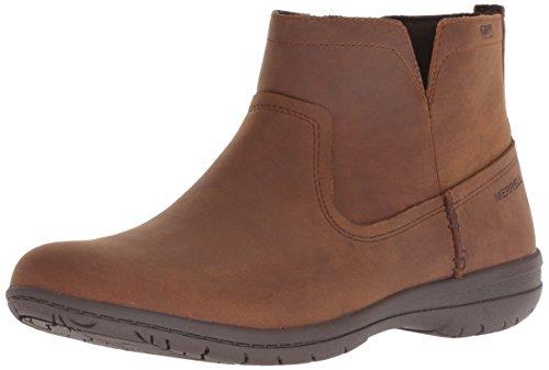 Merrell Women's Encore Kassie Waterproof Fashion Boot tan, 8 M - Boots Merrell Women