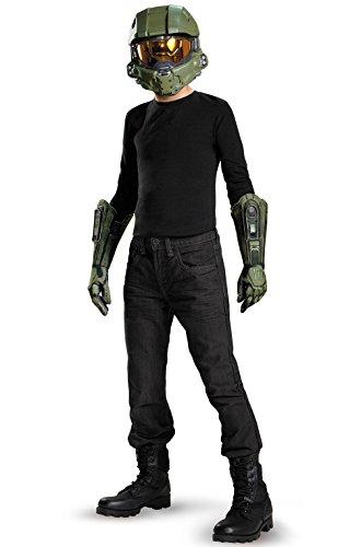[Mememall Fashion Halo's Master Chief Child Costume Kit] (Full Halo Costumes)
