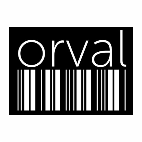 teeburon-orval-barcode-pack-of-4-stickers