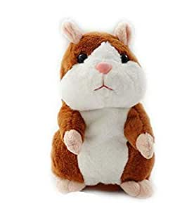 18cm Talking Hamster Mouse Plush Toy Cute Speak Sound Record Hamster Educational Toy for Children
