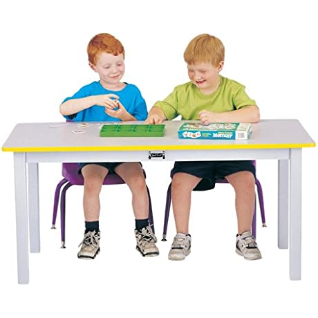 Large Rectangle Table 12 High Purple School Play Furniture