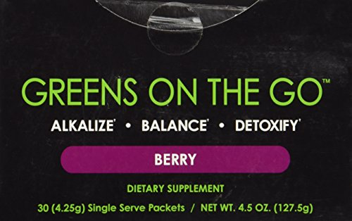 It Works! Greens On The Go Nutritional Supplement, Berry, 30 Count